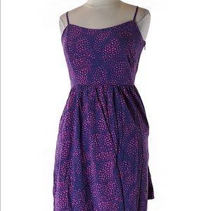 Gap patterned dress w/pockets, size 10